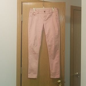 Maurices Jeggings, light pink